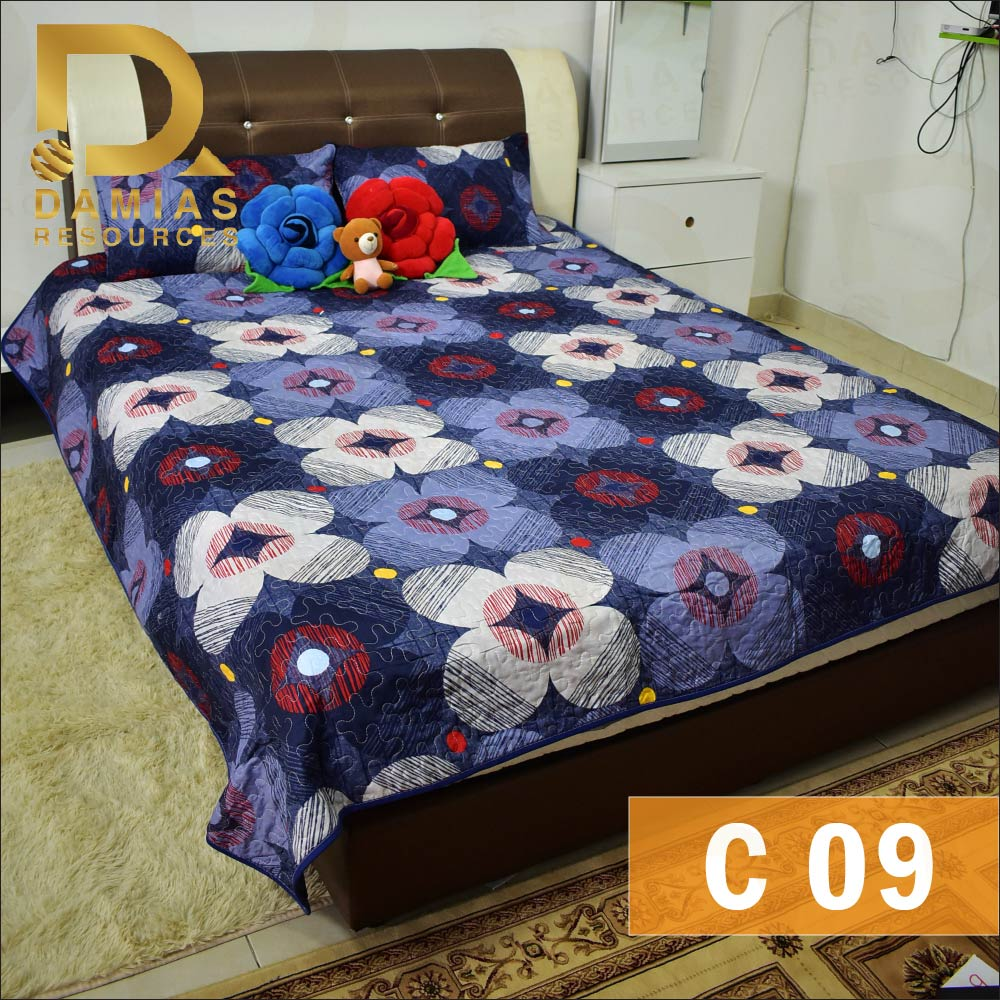 LELONGcadar patchwork premium SINGLE 2IN1 / QUEEN 3IN1 / QUEEN 6IN1