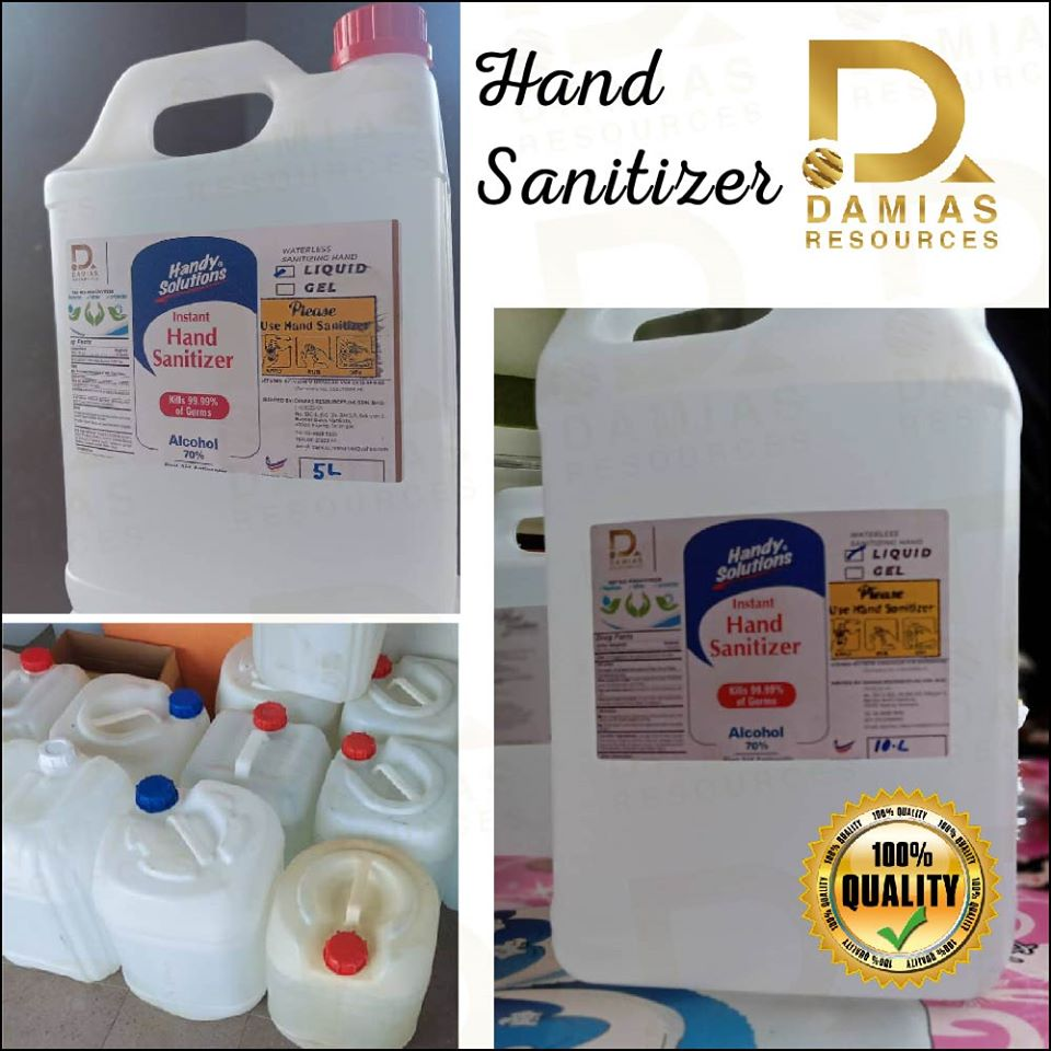 HAND SANITIZER PEMBASMI KUMAN LIQUID 200ML (spray Bottle)
