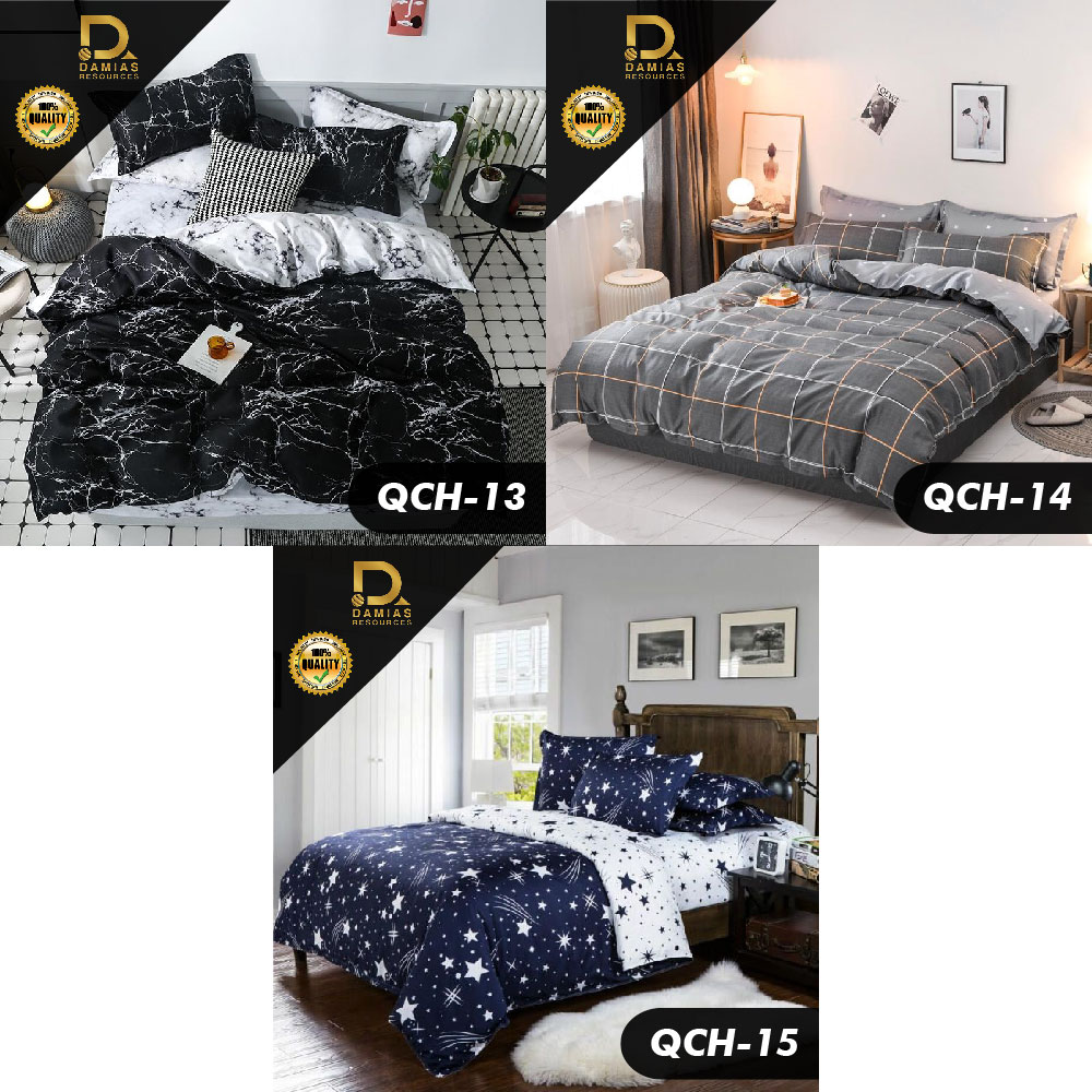Cadar Holiday Set 7 in 1 With Comforter Fa'lisha