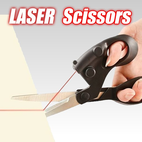 Laser scissors laser guided scissors laser cutting straight