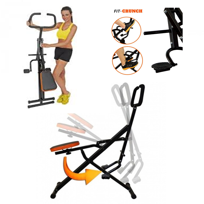 Total Crunch Machine Fitness Exercise cardio