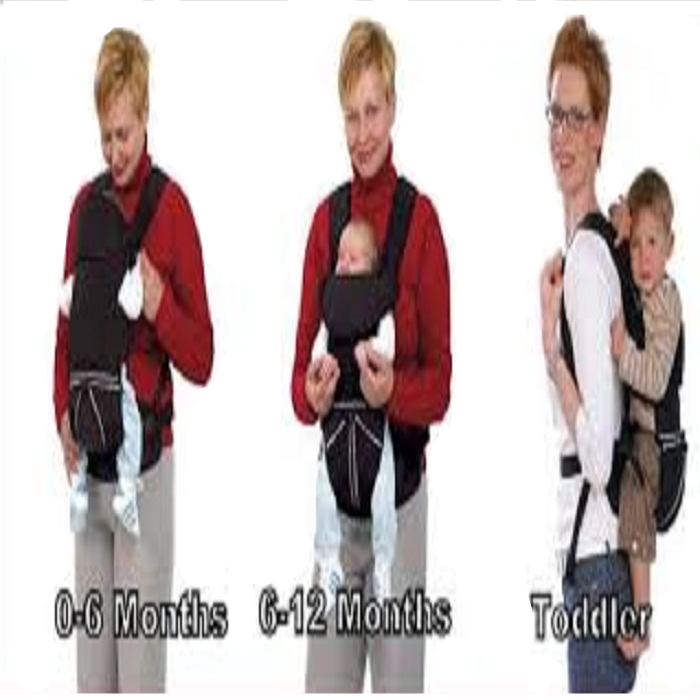 Baby Carrier carrying babies Mothercare 3 Way Carrier