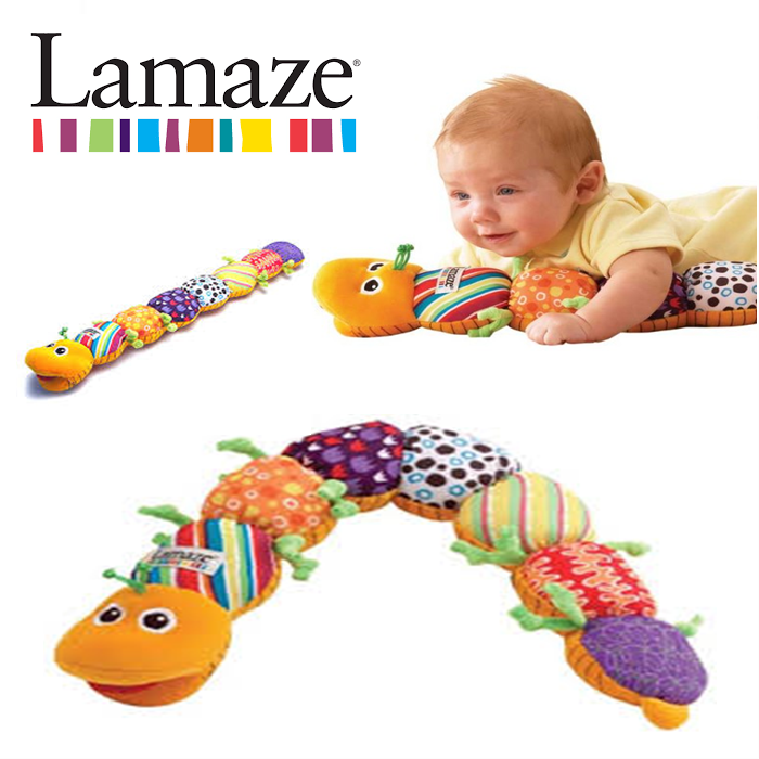 Lamaze Inchworm Musical baby soft toy