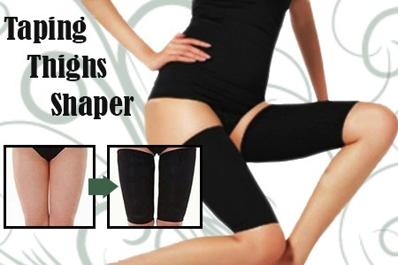 Taping Beauty Thighs Shaper