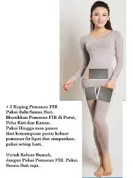 Seamless Suit Set FREE 3pcs Fir Slimming infrared [GREY]