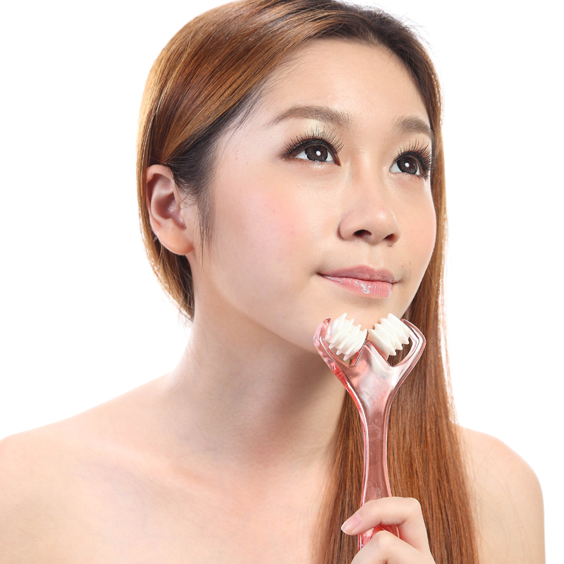 face roller facial massager/face yoga/chin massage/mini facial massage