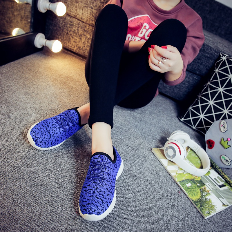 RUNNING SPORT SHOES AIR WAVE UNISEX MODEL KAW124 [BLUE]