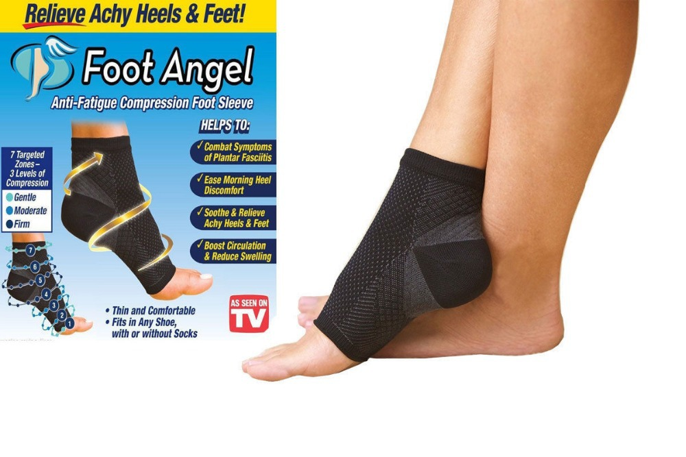 0515d63d99 Foot Angel Anti Fatigue Foot Compression Sleeve socks