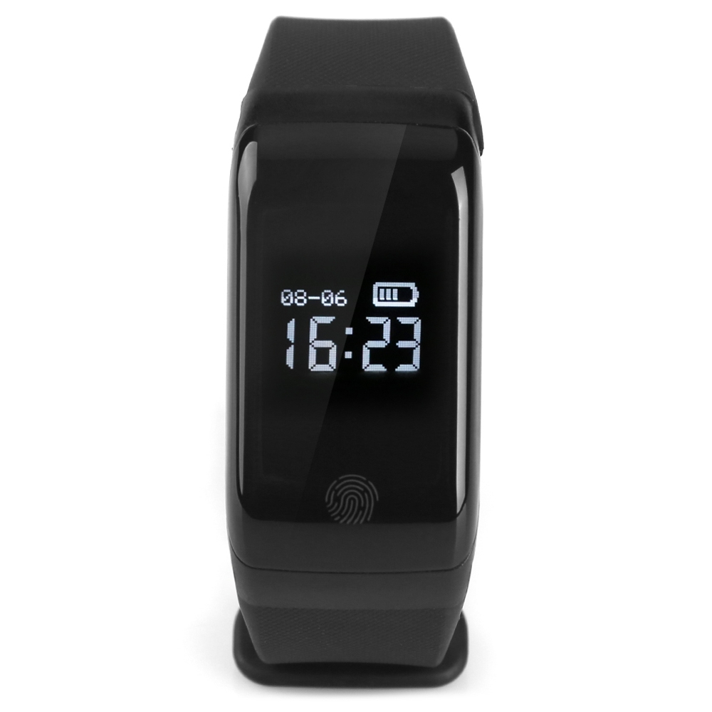 X7 BLUETOOTH 4.0 SPORTS SMART WATCH HEART RATE TRACKER (BLACK)