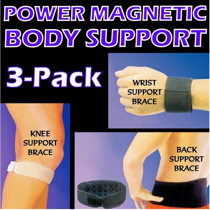 Dr Levines Power Magnetic 3-pack