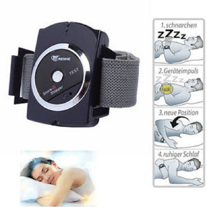 Infrared Snore Stopper Wristband Watch